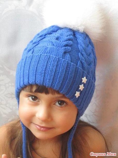 Зимняя шапка (проба мериноса)