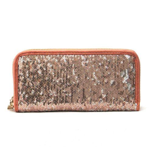 Sequin Embellished Wallet