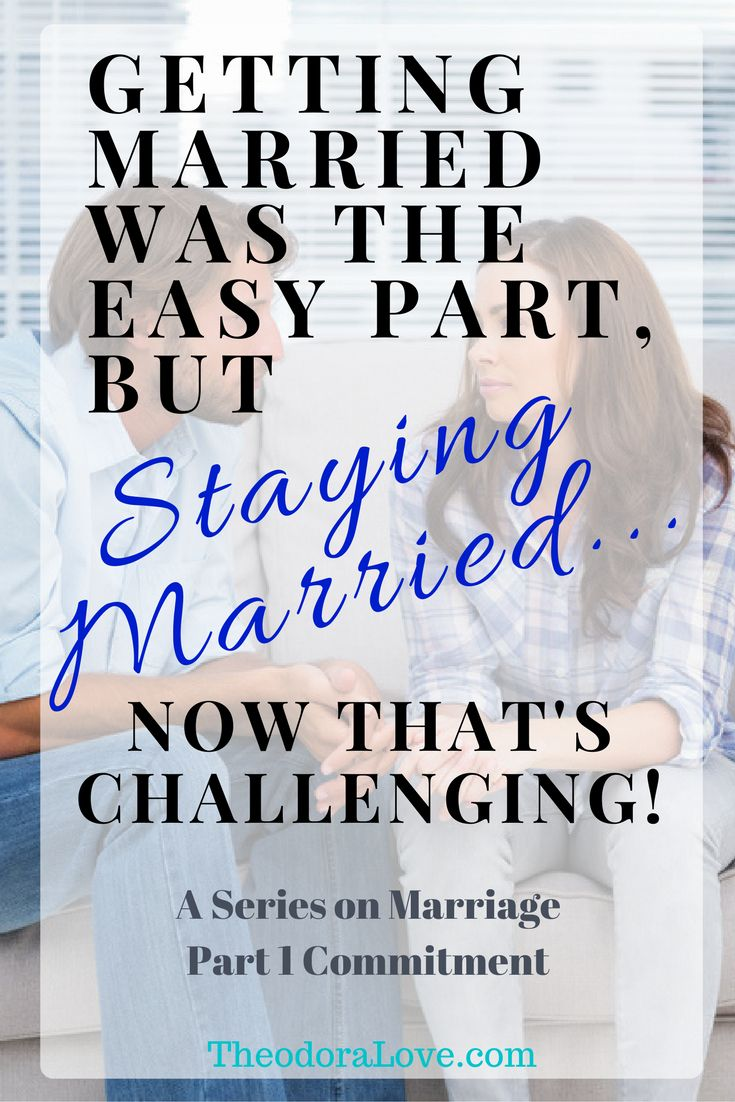 "Marriage is one of the most beautiful gifts you'll ever receive. However, ""staying married"" can be extremely challenging if you don't have the tools to make your marriage successful. This is Part 1 of the ""Staying Married"" Series- COMMITMENT."