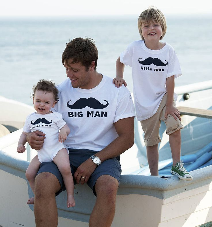 'Big Man Little Men' Father And Sons Set