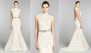Image result for wedding dress with collar