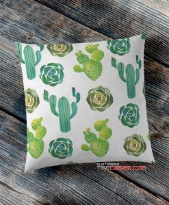 Cacti Cactus Flora pillow case, Custom Pillow case, Square Rectangle pillows case