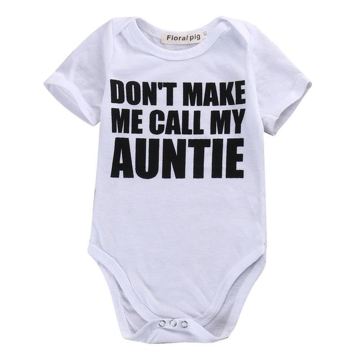"Because when Mom says ""No"", Auntie will say ""Yes"". Tag your baby's favorite Aunt now! Sizes available for 0-18 months. Click the link to shop!https://petitelapetite.com/collections/boys/products/auntie-bodysuit"