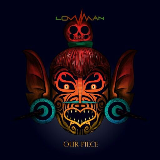 Lowman - Our Piece EP.  Artwork by Saner