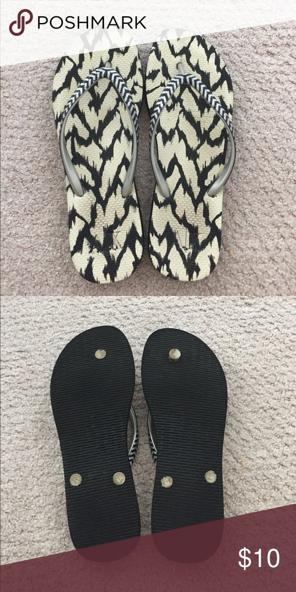 Armani size 8/9 Flip Flop Mint condition and minimal wear A/X Armani Exchange Shoes