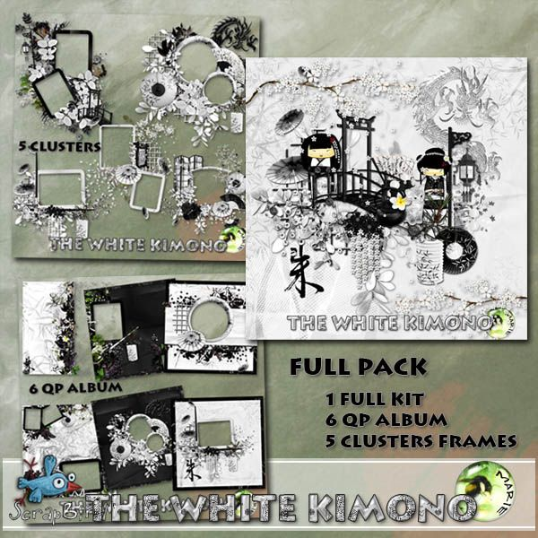The White Kimono FULL PACK  by Marie