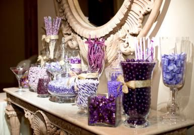 Fun purple candy bar! Photo by Sherry Lynch