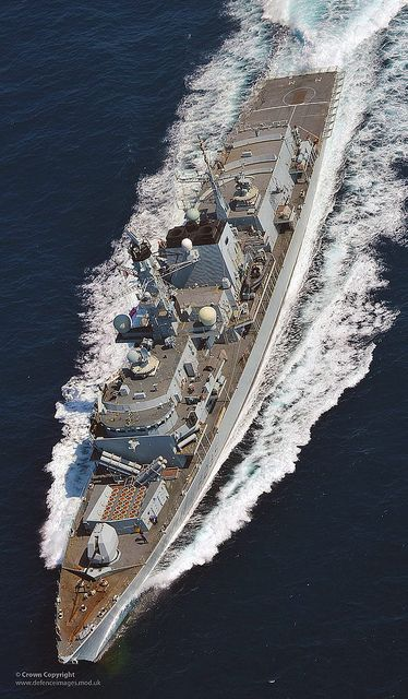 Type 23 frigate HMS Monmouth on patrol. Following a successful maintenance period in July and a well deserved leave period during August, it...