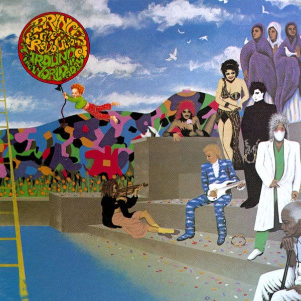 Around the World in A Day (1985) - A Visual History of Prince's Album Covers   Complex