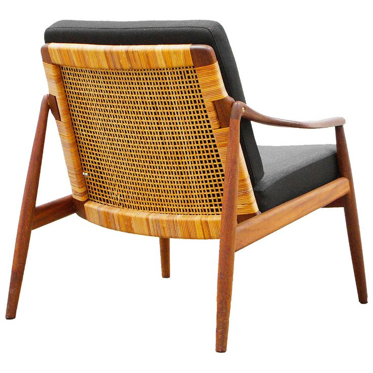 View This Item And Discover Similar Armchairs For Sale At   A Beautiful  Filigran Design Easy Chair Designed By Helmut Lohmeyer, The Complex Caned  Back And ...