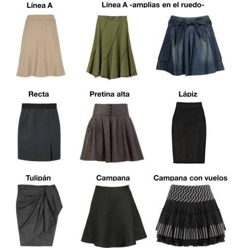 Aprende a diferenciar los tipos de falda  567198eaa36