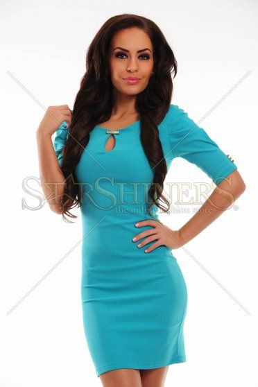 Rochie PrettyGirl Great Chick Turquoise