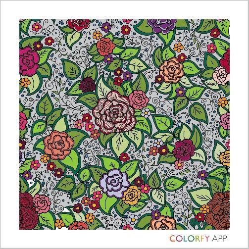 #flower #colour #colouring #colouringapp colourfull