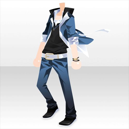 Anime casual clothes male