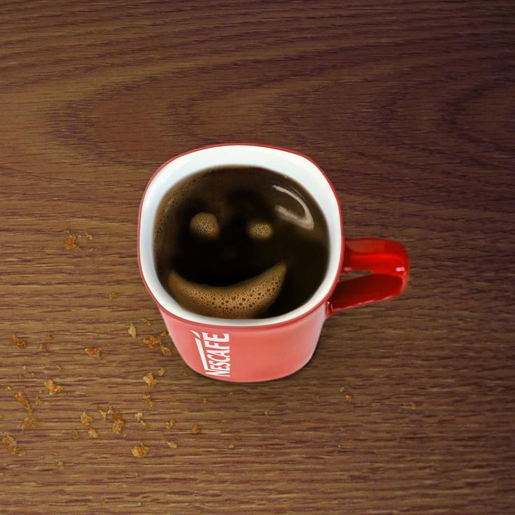 Un bon #Nescafé le matin, ça vous donne le moral ? :-)