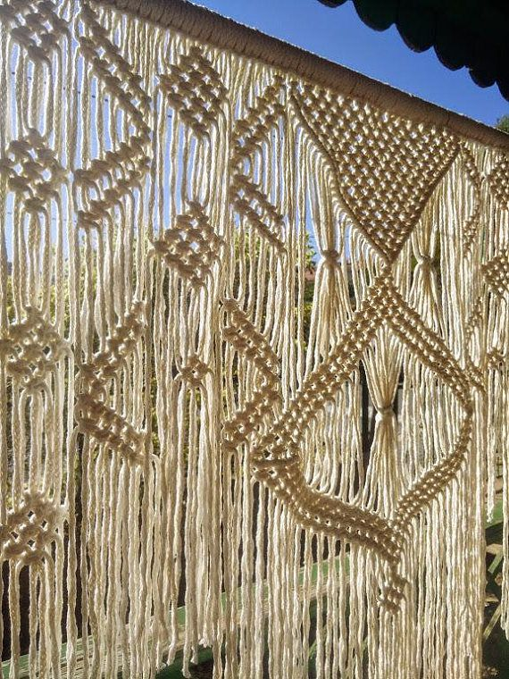 Extra large macrame wall hanging, Wall tapestry, Handmade headboard, Wedding Decor, Woven wall decor, Modern wall decor, Textile headboard, Macrame wall hanging, Bohemian handmade macrame, Holiday Gift, Macrame Tapestry, Housewarming Gift Handmade macrame, Extra large macrame wall