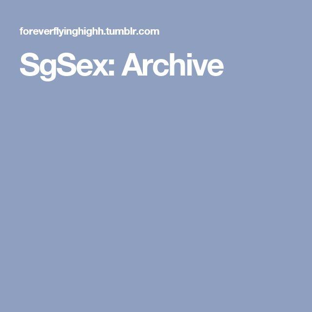 SgSex: Archive