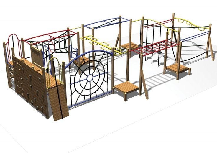 A compact fitness style playground which makes kids workout using all the main muscle groups. #TR314 #PlaygroundCentre #ModularPlaySystems #PlaySpace #PlayGround #Fun #Play #TraditionalTR314