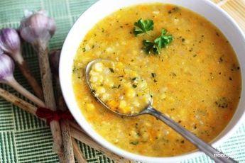 Гороховый суп с чесноком Быстро - пошаговый рецепт с фото на Повар.ру