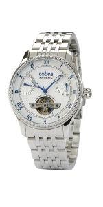 Ανδρικό Ρολόι Αυτόματο COBRA με μπρασελέ