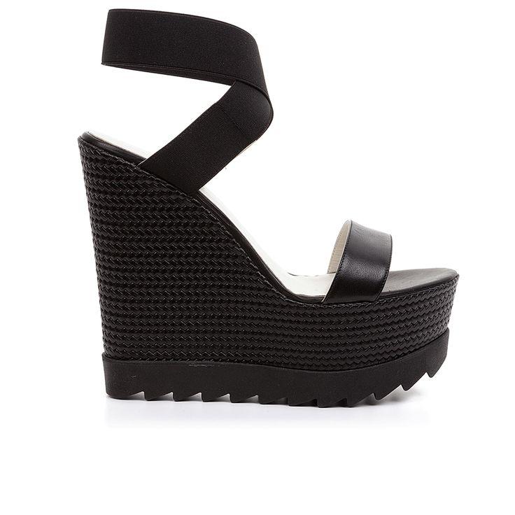 Code: 850G13 Heel height: 13 cm www.mourtzi.com #wedges #hot #fashion