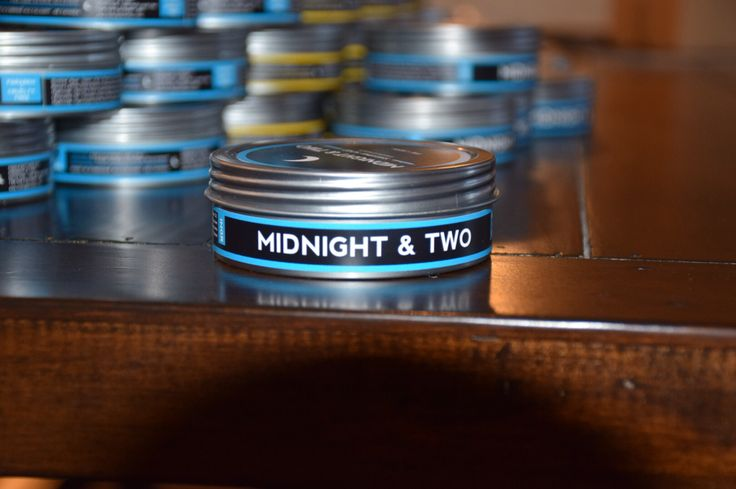 The Cabin in our new tin (Nov 2014). #shavesoap #wetshaving www.midnightandtwo.com