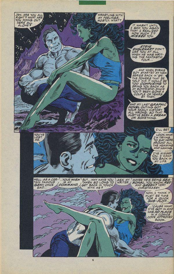 Byrne Robotics: JBF Reading Club : The sensational She-Hulk # 36