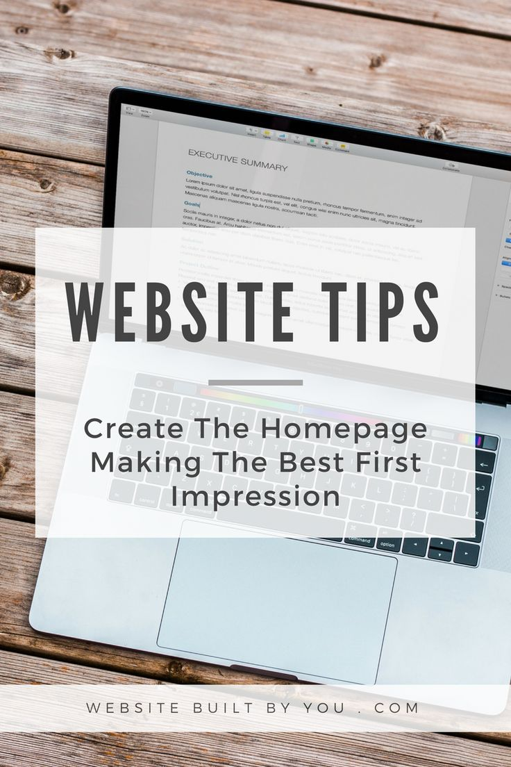 Create a homepage for your business which allows you to make the greatest first impression with your visitors. Learn how to write your Heading, Subheading and use the perfect image for your homepage