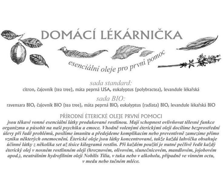 nobilis - LETÁK - DOMÁCÍ LÉKARNIČKA