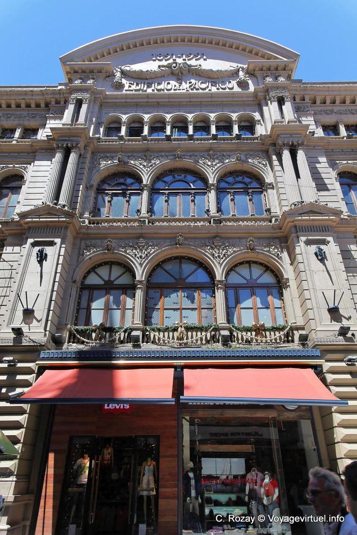 Buenos Aires Avenida Florida Building Pacifico - Argentina