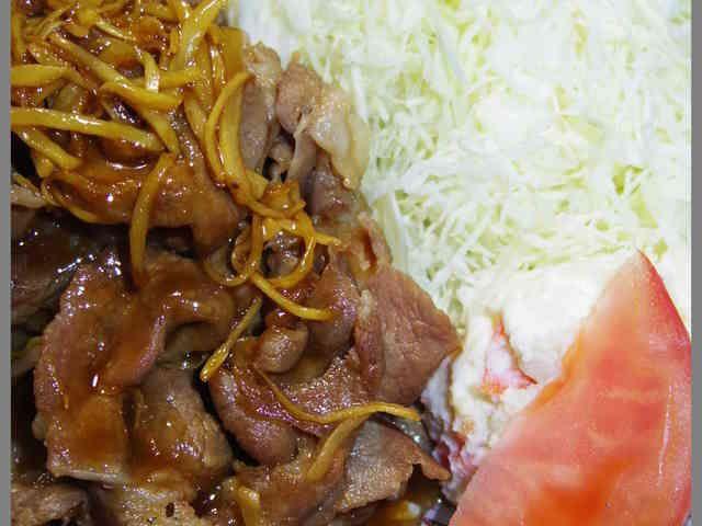 元ハンバーグステーキ職人直伝豚の生姜焼きの画像