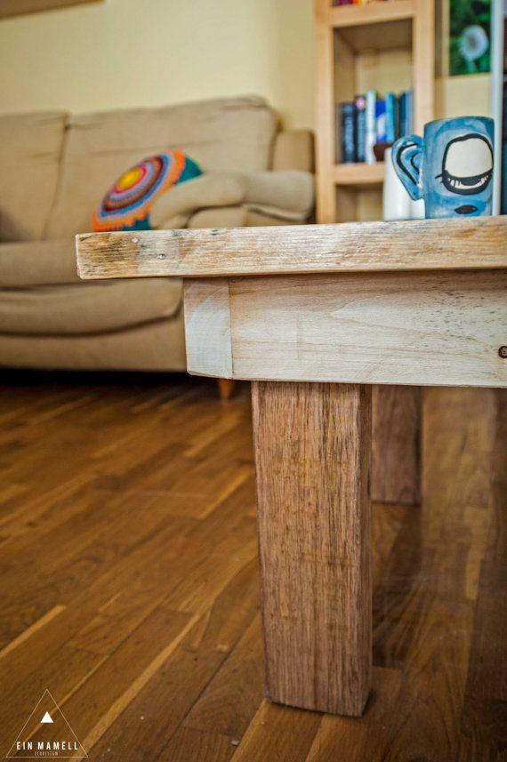 Tavolo sala in legno pallet riciclati di einMamell su Etsy