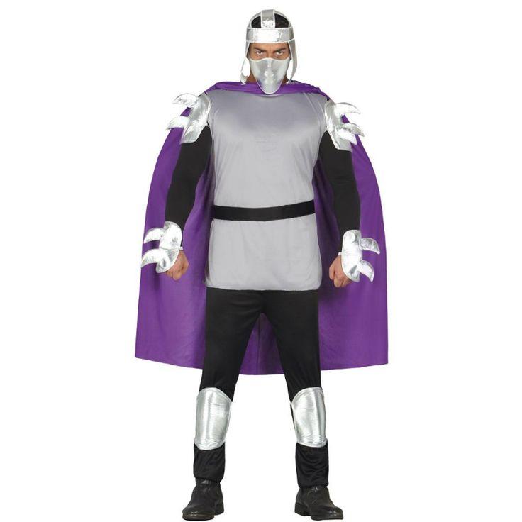 Disfraz de Shredder - Tortugas Ninja #disfraces #carnaval