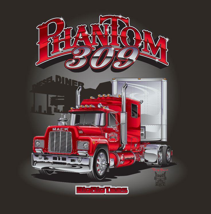 49 best terry akuna 39 s trucking industry portfolio images on pinterest semi trucks cars toons. Black Bedroom Furniture Sets. Home Design Ideas