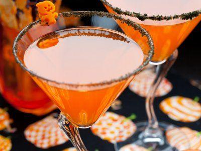 Receta de Ponche Burbujeante para Halloween