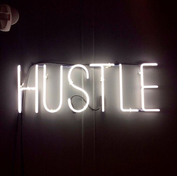 Anything in life worth having is worth the #Hustle! #freshwork #worthit