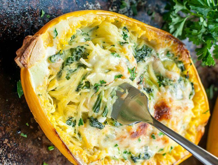 Vous cherchez une nouvelle recette pour manger votre courge spaghetti? Essayez cette recette gratinée au parmesan et aux épinards… C'est santé et délicieux!