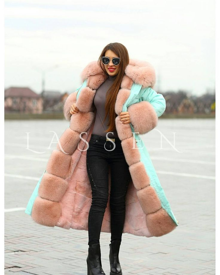 Awesome fur lined coat