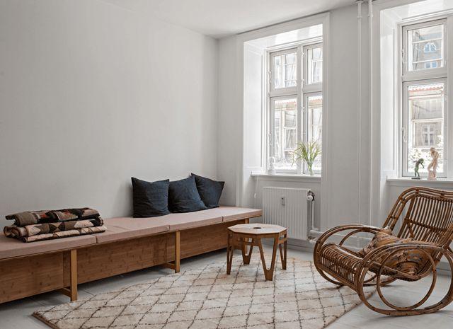 Beautiful home of Danish craft artist
