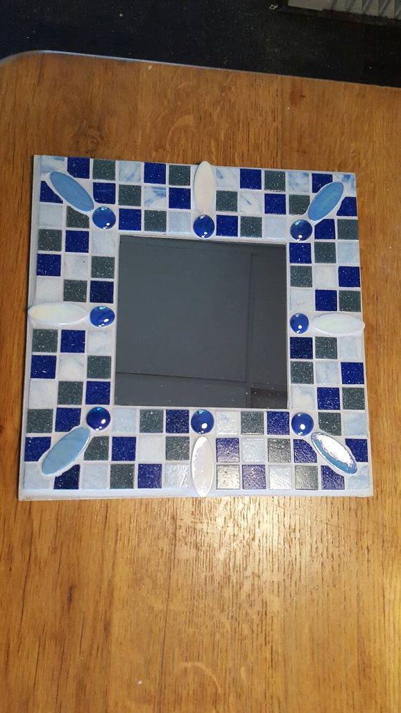 Mosaic mirror by kreejakoop on Etsy