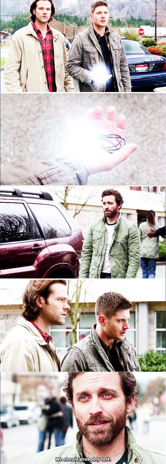 11x20 Don't Call Me Shurley // Chuck: We should probably talk.