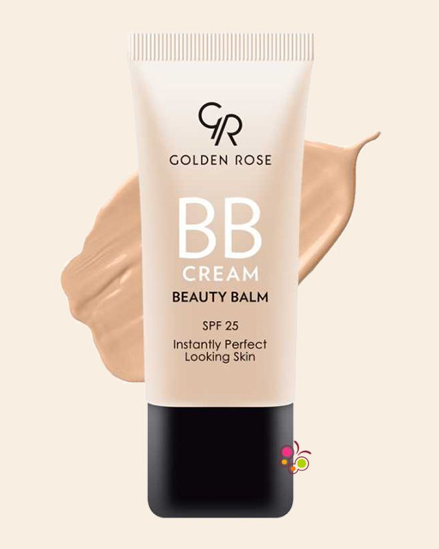 GOLDEN ROSE BB Cream Krem Beauty Balm 03 Natural