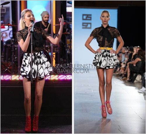 Good Morning America | New York City, NY | January 13, 2016 Gregorio Sanchez Spring-Summer 2016 romper In anticipation of Kelsea's performance on Good Morning America this morning, I'm taking a quick look back at what she wore last time on the...