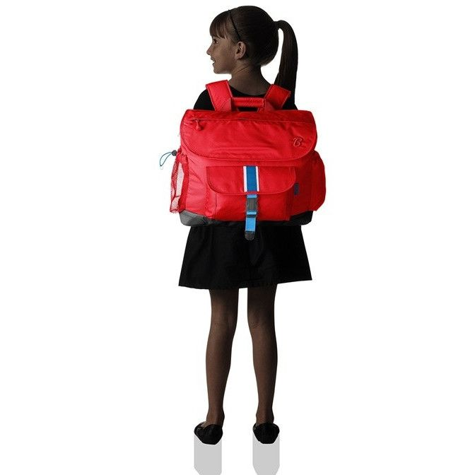送料無料 キッズ バックパック 子供用 おしゃれ ブランド リュックサック リュック人気 女の子 Bixbee Signature Backpack Red