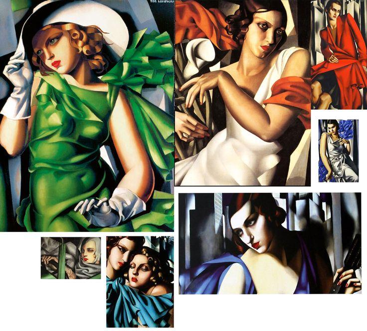 Tamara de Lempicka the artist the woman the legend