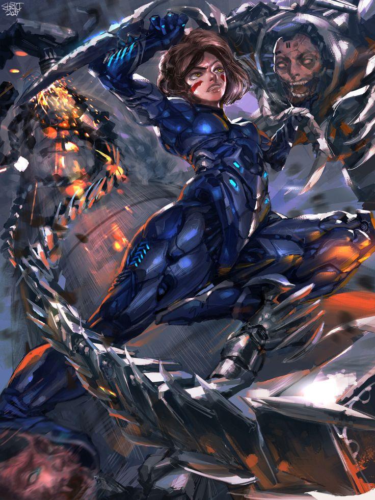 alita cyberpunk Google Search Alita battle angel manga