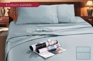 From $69 for a Bamboo Sheet Set in a Range of Colours and Sizes (Don't Pay up to $199)
