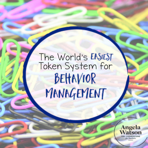 The World's Easiest Token System for Behavior Management