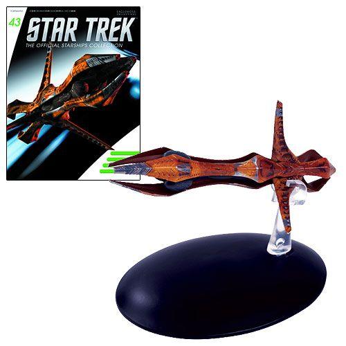 Star Trek Starships Species 8472 Bioship Vehicle & Magazine