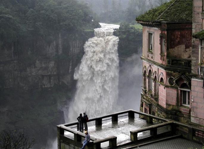 Río Bogota. Salto del Tequendama.